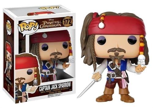 Фигурка Капитан Джек Воробей (Captain Jack Sparrow) из фильма Пираты Карибского моря - фото 8446