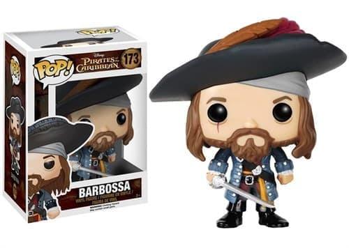Фигурка Барбосса (Barbossa)  из фильма Пираты Карибского моря - фото 8449
