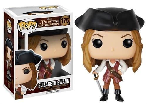 Фигурка Элизабет Суонн (Elizabeth Swann) из фильма Пираты Карибского моря - фото 8450