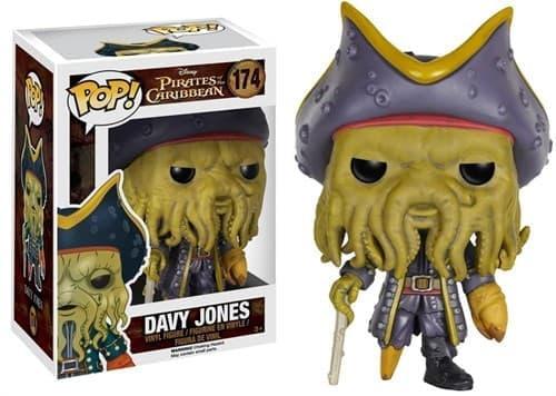 Фигурка Дэви Джонс (Davy Jones) из фильма Пираты карибского моря - фото 8455