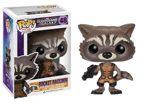 Фигурка Реактивный Енот (Rocket Raccoon) из фильма Стражи Галактики № 48 купить в Москве