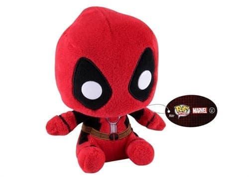Игрушка Deadpool 6-inch Plush из вселенной Marvel - фото 8511