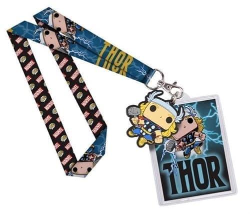 Шнурок Тор (Thor Lanyard) из вселенной Marvel - фото 8576