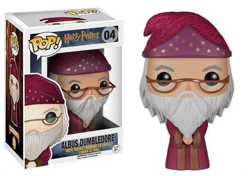 Фигурка Альбус Дамблдор Гарри Поттер (Albus Dumbledore Harry Potter Pop) №04 купить в Москве