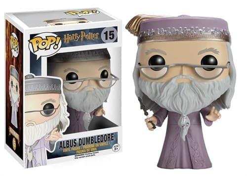 Фигурка Дамблдор с палочкой Гарри Поттер (Dumbledore Harry Potter Pop) № 15 купить в Москве