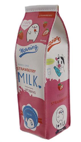 Креативный пенал Клубничное молоко купить в России