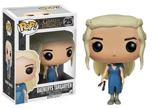 Фигурка Дейнерис Таргариен в синем платье (Daenerys Targaryen) из сериала Игра Престолов № 25 - фото 8695