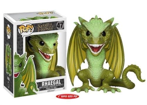 Фигурка Рейгаль (Rhaegal Dragon 15 см) из сериала Игра Престолов № 47 - фото 8699