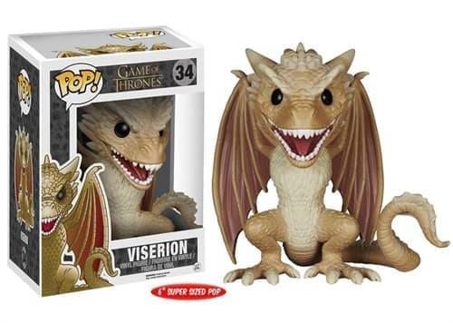 Фигурка Визероин (Viserion Dragon 15 см) из сериала Игра Престолов № 34 - фото 8700