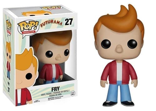 Фигурка Фрай Футурама (Fry Futurama Funko Pop Figure) №27 купить в Москве