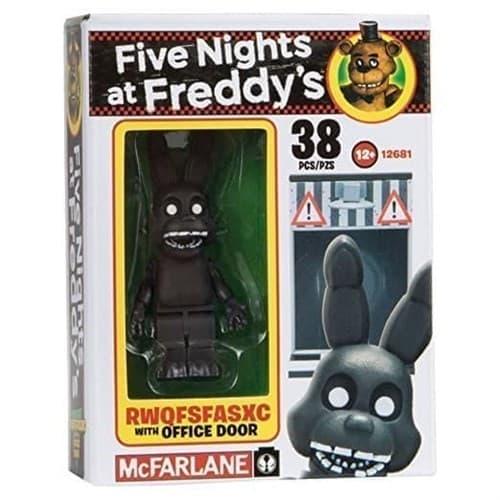 Конструктор Бонни и служебная дверь  из игры Five Nights at Freddy - фото 9255