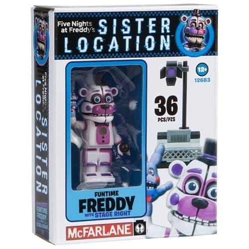 Конструктор Фредди Фантайм из игры Five Nights at Freddy на 36 деталей - фото 9266