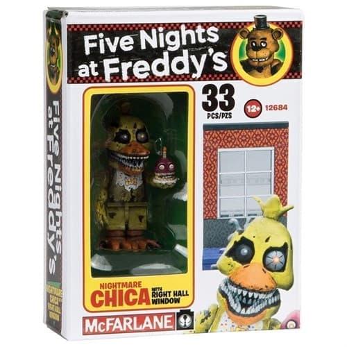 Конструктор Кошмарная Чика из игры Five Nights at Freddy - фото 9273