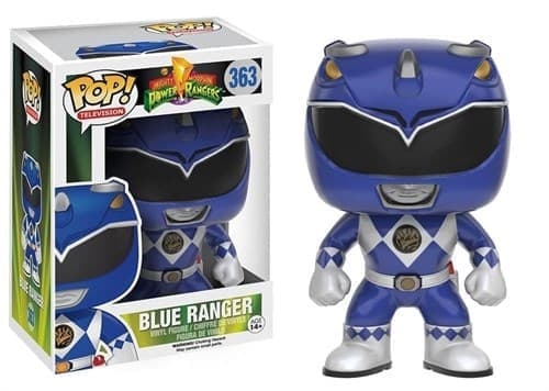 Фигурка Синий Рейнджер (Blue Ranger) из сериала Power Rangers (Могучие Рейнджеры) - фото 9296
