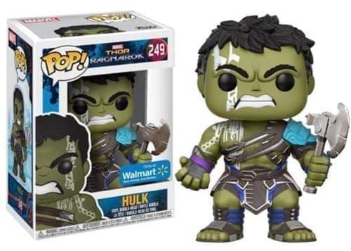 Фигурка Халк Walmart Exclusive Thor: Ragnarok Hulk Pop Vinyl №249 купить
