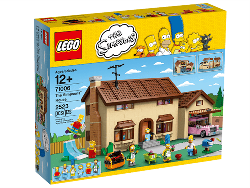 Дом Симпсонов (лего на 2523 детали) - фото 9819