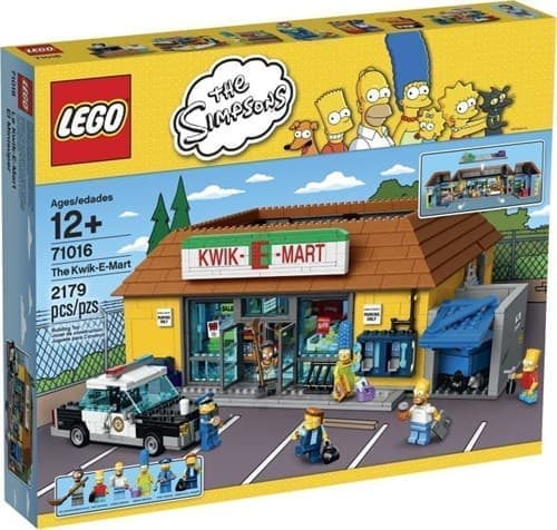 Супермаркет Квик-И-Март (Lego The Simpsons 2179 деталей) - фото 9828