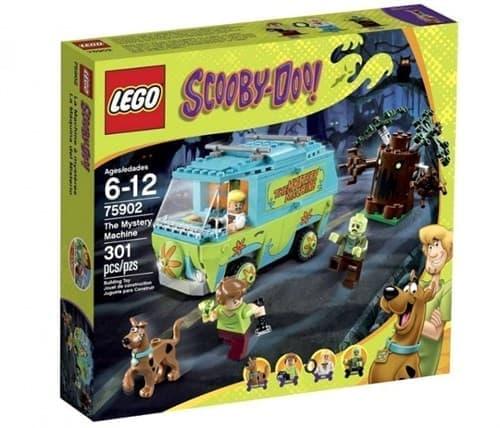 Таинственная машина (Lego Scooby Doo 301 дет) - фото 9853