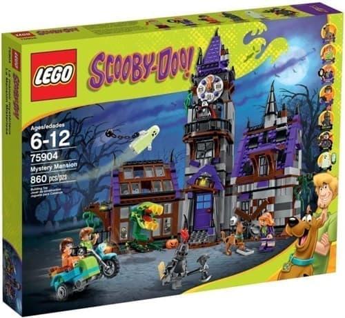 Таинственный особняк (Lego Scooby Doo 860 дет) - фото 9869