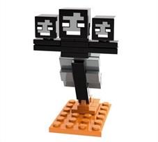 Фигурка совместима с лего Иссушитель из игры Майнкрафт (Wither Minecraft) купить