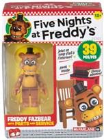 Конструктор Фнаф Запчасти и Обслуживание 5 ночей с Фредди (Parts and Service Five Nights at Freddy's Mcfarlane) 39 деталей