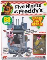 Конструктор Фнаф Ремонт верхнего вентилятора 5 ночей с Фредди (Upper Vent Repair Five Nights at Freddy's Mcfarlane) 88 деталей