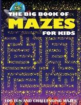 Большая книга лабиринтов для детей купить