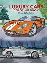 """Книга раскраска """"Роскошные автомобили"""" купить"""