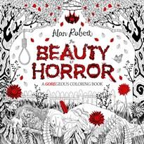 """Книга раскраска """"Красота ужаса"""" (The Beauty of Horror 1) для взрослых"""