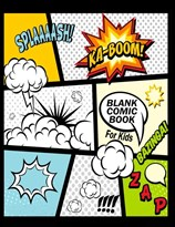 Пустая книга комиксов купить