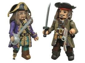 Фигурка Джек Воробей и Барбосс (Пираты Карибского моря)