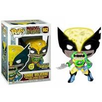 Фигурка Росомаха зомби (Marvel Zombies Wolverine Glow-in-the-Dark Pop! Vinyl Figure - Entertainment Earth Exclusive) №662 купить в России