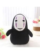 Плюшевый Безликий бог Каонаси с фиолетовыми полосками (Унесенные призраками)