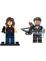 Набор фигурок совместимых с Лего Мэгги и Дэрил Ходячие Мертвецы купить