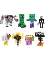 Набор из 8 фигурок совместимых с Лего Майнкрафт (Minecraft)