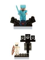 Набор из 2 фигурок совместимых с Лего Майнкрафт купить