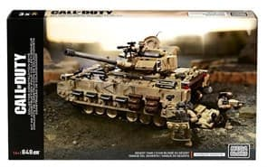 Конструктор Call of Duty Desert Tank Collector 848 деталей