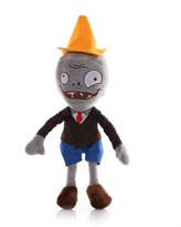 Мягкая игрушка Зомби в коричневом пиджаке из Зомби против Растений купить в России с доставкой