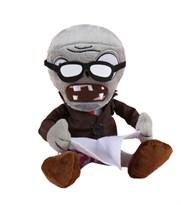 Мягкая игрушка Зомби в очках 30 СМ (Plants vs Zombies) купить в России