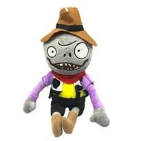 Мягкая игрушка Зомби Ковбой 30 см (Plants vs Zombies) купить в Росси с доставкой