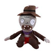 Мягкая игрушка Зомби в шляпе и пальто 30 см (Plants vs Zombies)