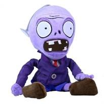 Мягкая игрушка фиолетовый Зомби 30 см (Plants vs Zombies) купить в России с доставкой