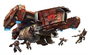 Mega Construx Destiny Cabal Harvester Dropship Signature Series Playset