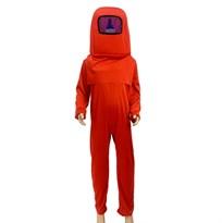 Детский костюм Амонг Ас (Among Us) красный купить в Москве