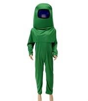 Купить Детский костюм Амонг Ас (Among Us) зеленый