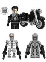 Набор из 3 фигурок совместимых с Лего Терминатор (Terminator) купить