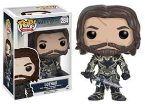 Фигурка Андуин Лотар Варкрафт (Lothar Warcraft Funko Pop Figure) №284 купить в Москве