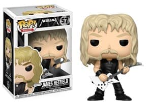 Funko Pop James Hetfield  Джеймс Хэтфилд Metallica Металлика