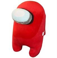 Красная мягкая игрушка Амонг Ас (Among Us) 30 см купить в России с доставкой
