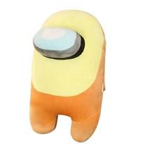 Желтая мягкая игрушка Амонг Ас (Among Us) 30 см купить в России с доставкой